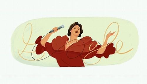 Google le dedica un 'doodle' a Chabuca Granda por el 92 aniversario de su nacimiento