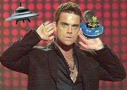 [Puerto Rico] Robbie Williams anunció que quiere comprar la isla White Rock, en California, para transformarla en un Ovnipuerto para detectar Ovnis