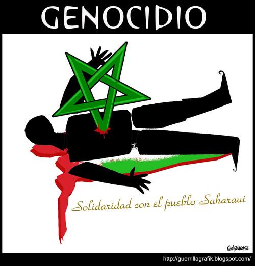 ¿Vendrá al Perú genocida rey marroquí?