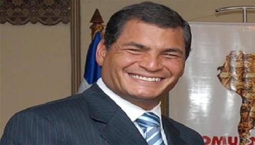 Estudio Mitofsky: Rafael Correa es el presidente más popular de América
