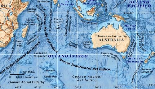 Importancia geoestratégica del Océano Índico
