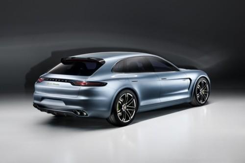 Porsche presenta el automóvil concepto Panamera Sport Turismo