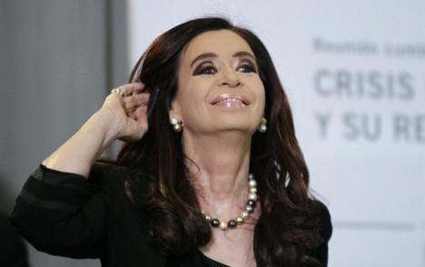 La popularidad de Cristina Fernández cae en picada