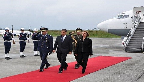 Oficializan viaje del presidente Humala a España y Suiza