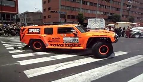 Dakar 2012: Vea la espectacular maniobra de Robby Gordon al llegar ...