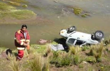 Junín: Seis muertos deja despiste de automóvil
