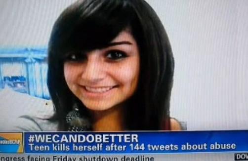 Estados Unidos: Joven se suicida luego de revelar por Twitter que fue violada