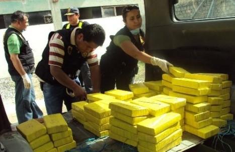 Amazonas: incautan más de 120 kilos de droga