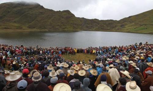 Conga: el 73,4% de cajamarquinos no quiere su realización
