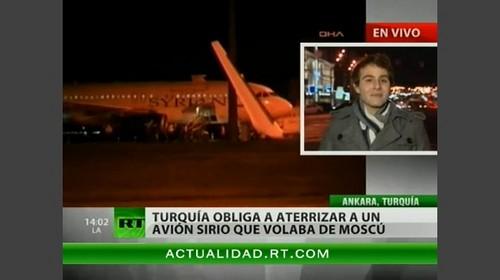 Aviones F-16 de Turquía hacen aterrizar un Airbus A320 con pasajeros