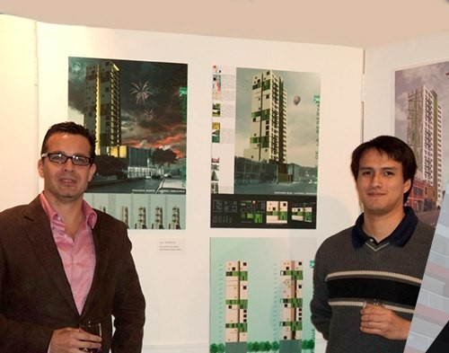 Nuevo director de carrera arquitectura de interiores de ucal gana concurso de dise o mural - Carrera de arquitectura de interiores ...