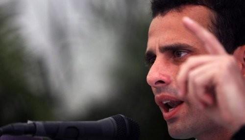 Todo el poder del Estado contra Capriles