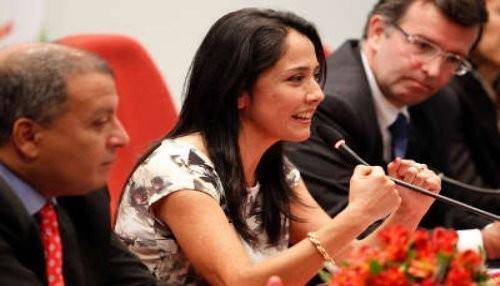 Nadine Heredia: Ollanta desea que la mujer peruana avance en su desarrollo político y económico