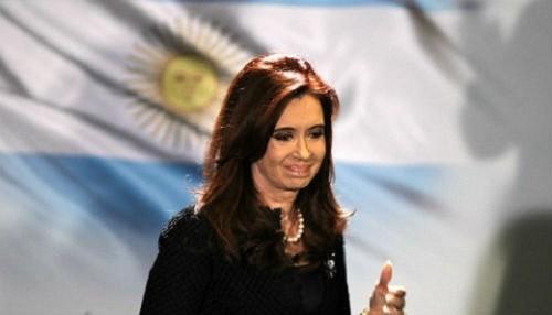 Cristina Fernández pide fuerzas divinas para su gobierno