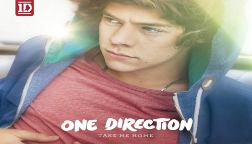 One Direction: Rostro de Harry Styles adorna 'Take Me Home'