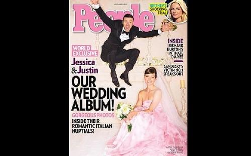 Así lucieron Justin Timberlake y Jessica Biel el día de su boda [FOTO]