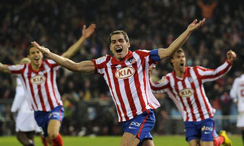 Europa League: Atlético de Madrid dio cuenta del Académica por 2 a 1