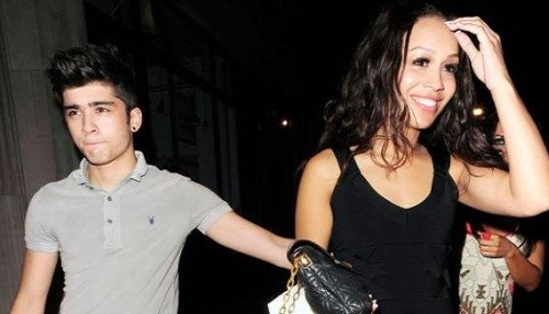 One Direction: Rebecca Ferguson no suelta a Zayn Malik