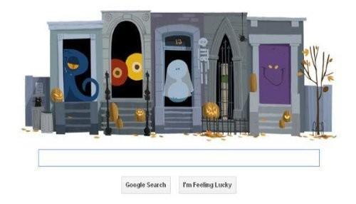 Google celebra Halloween con doodle truco o trato