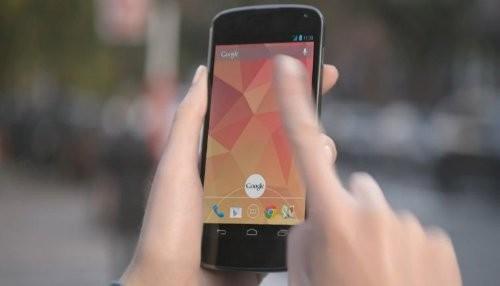 Google Nexus 4 corrige HSPA + spec