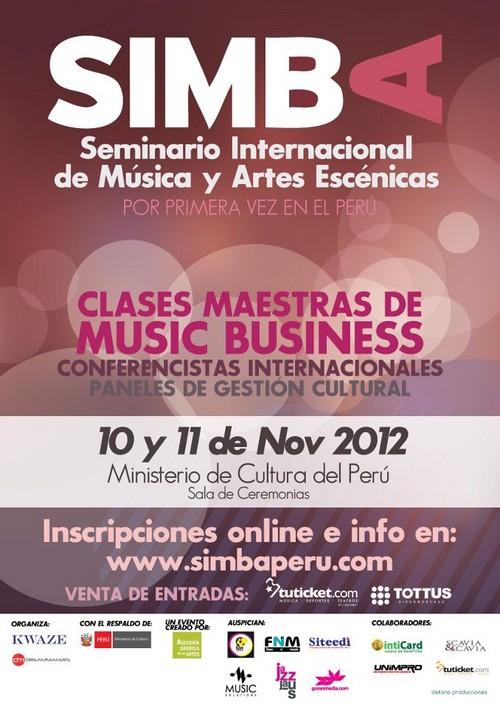 Seminario Internacional de Música y Artes Escénicas.