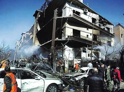 Siria: coche bomba deja 7 heridos de gravedad cerca a cuartel del Ejército