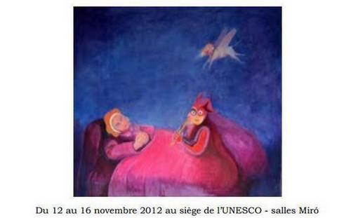 Exposición del Maestro Alberto Quintanilla, París - Francia