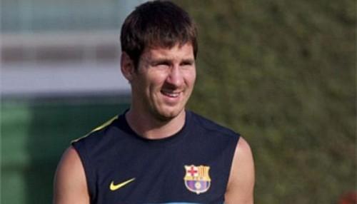 Lionel Messi: Ya anotaré muchos más goles para dedicárselos a mi hijo
