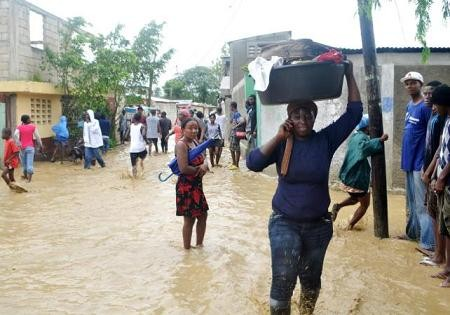 Haití: mueren 10 personas por inundaciones