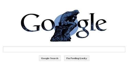 Google celebra el aniversario de Auguste Rodin con un Doodle