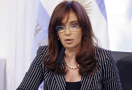 Argentina: mandataria Cristina Fernández gana 40 mil pesos al mes