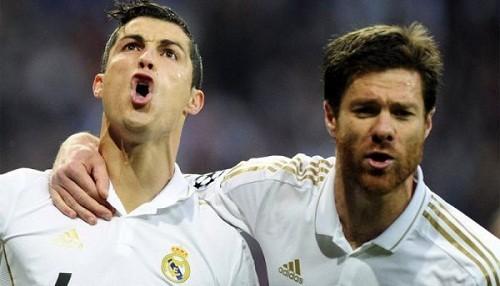 Xabi Alonso: Fuera del vestuario no hay casi relación entre Cristiano Ronaldo y yo