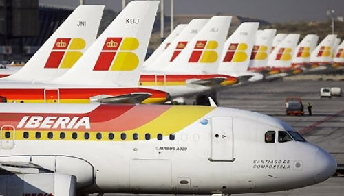 Trabajadores de Iberia a la huelga antes de Navidad