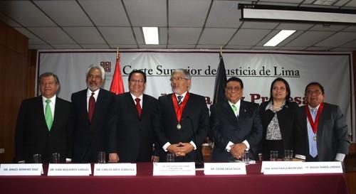 Candidatos ala Presidencia de la Corte de Lima expusieron sus Planes de Trabajo