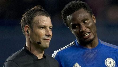 John Obi Mikel fue multado con más de 72 mil euros por amenazar a un árbitro
