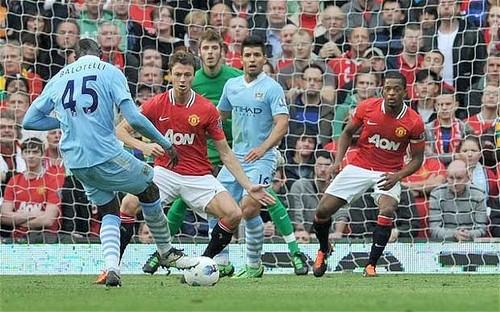 Premier League: Manchester United venció 3 a 2 al Manchester City
