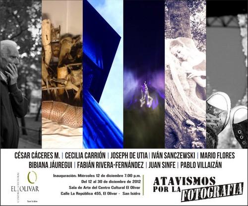 Inauguración de la exposición 'Atavismos por la Fotografía' en  en el Centro Cultural El Olivar