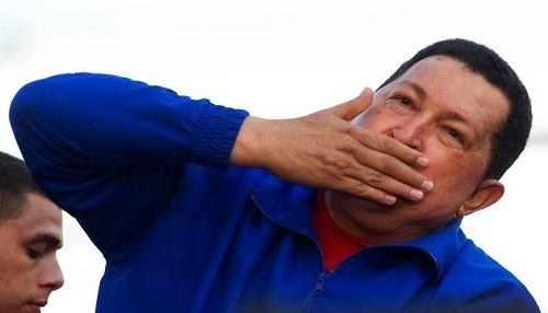 Chávez, los Simpson, Internet y Clarín