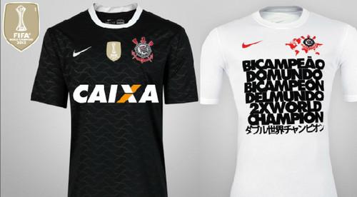 Corinthians lanzó nuevas camisetas para celebrar el Mundial de Clubes [FOTOS]