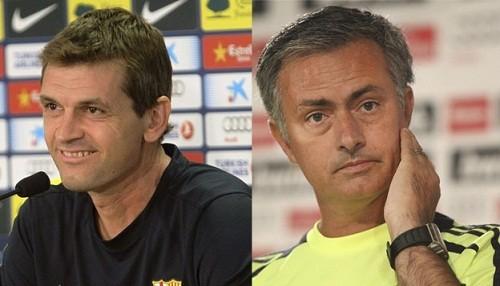 Mourinho le manda mensaje de aliento a Vilanova: Estamos todos juntos y espero salgamos vencedores