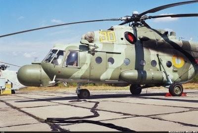 Un helicóptero militar se restrelló  en Ucrania