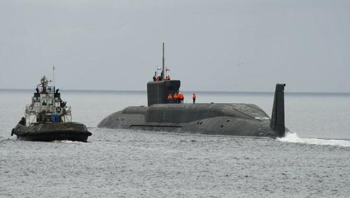 Rusia pone a prueba su tercer  y nuevo submarino nuclear