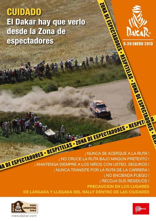 DAKAR 2013 : Cuatro formas para conocer las Zonas de Espectadores-Peru