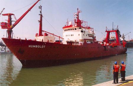 Este cinco de enero el Buque peruano Humboldt  partirá a la Antártida