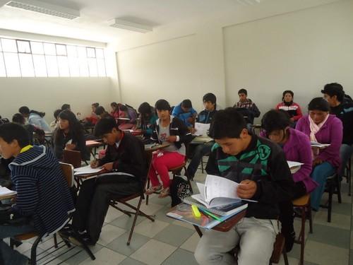 [Huancavelica] Rotundo éxito de ingresantes a universidades de la Academia Talento Beca 18