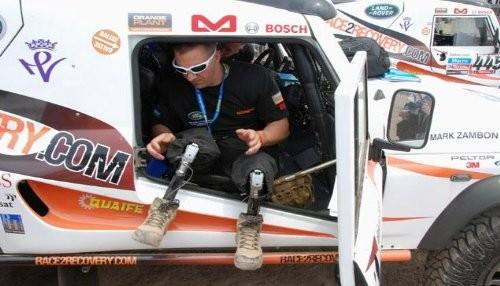 Dakar 2013: Race2Recovery el primer equipo de discapacitados en la carrera