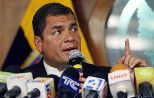 Rafael Correa: La CIA podría estar tramando un atentado contra mi persona