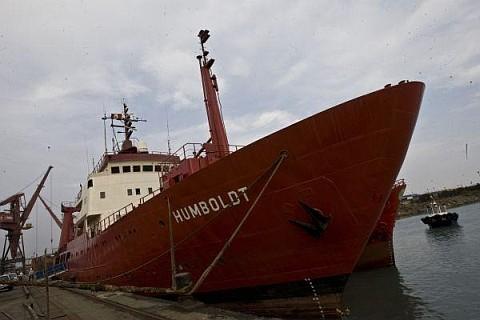 Presidente Humala despidió al Buque Humboldt que parte a la Antártida