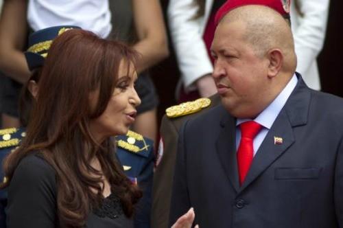 Argentina: Cristina Fernández envía a su Canciller a Venezuela para actos de apoyo a Hugo Chávez