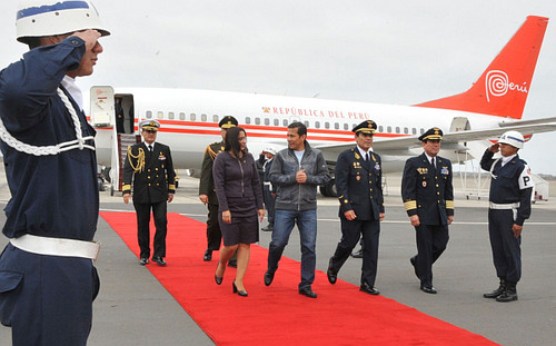 Congreso de la República autoriza el viaje del presidente Humala a Cuba